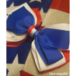 """Celebrate the 4th"" Hair Bow"